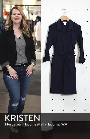 Long Sleeve Shirtdress, sales video thumbnail