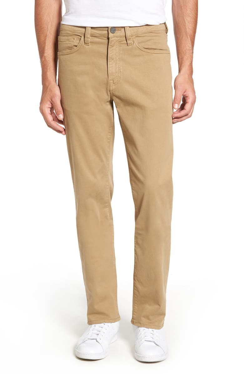 34 HERITAGE Charisma Relaxed Fit Jeans, Main, color, KHAKI TWILL