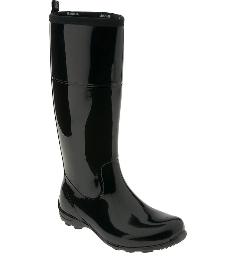 KAMIK 'Ellie' Rain Boot, Main, color, 001