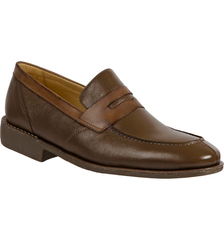 SANDRO MOSCOLONI 'Abel' Penny Loafer, Main, color, 201