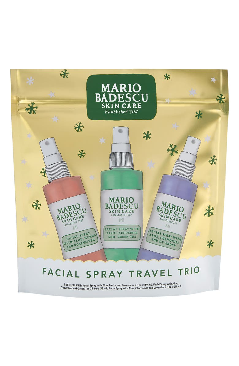 MARIO BADESCU Facial Spray Trio, Main, color, 000