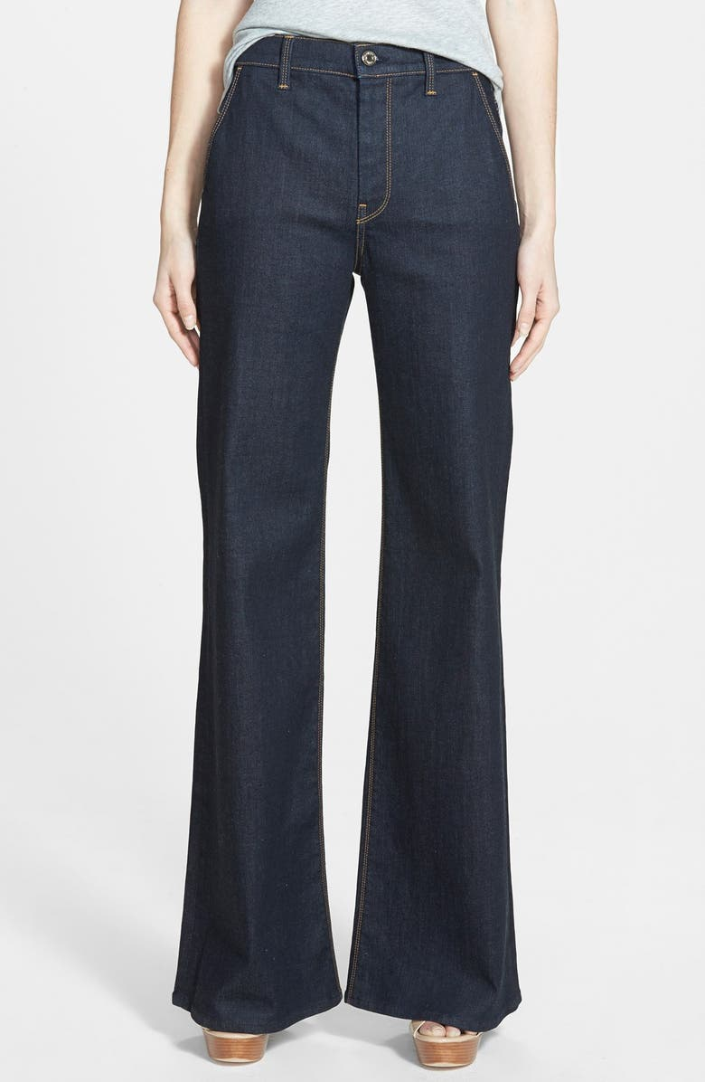 7 FOR ALL MANKIND<SUP>®</SUP> High Rise Flare Jeans, Main, color, 406