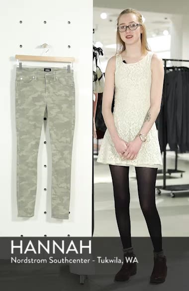 'Nico' Ankle Coated Skinny Jeans, sales video thumbnail