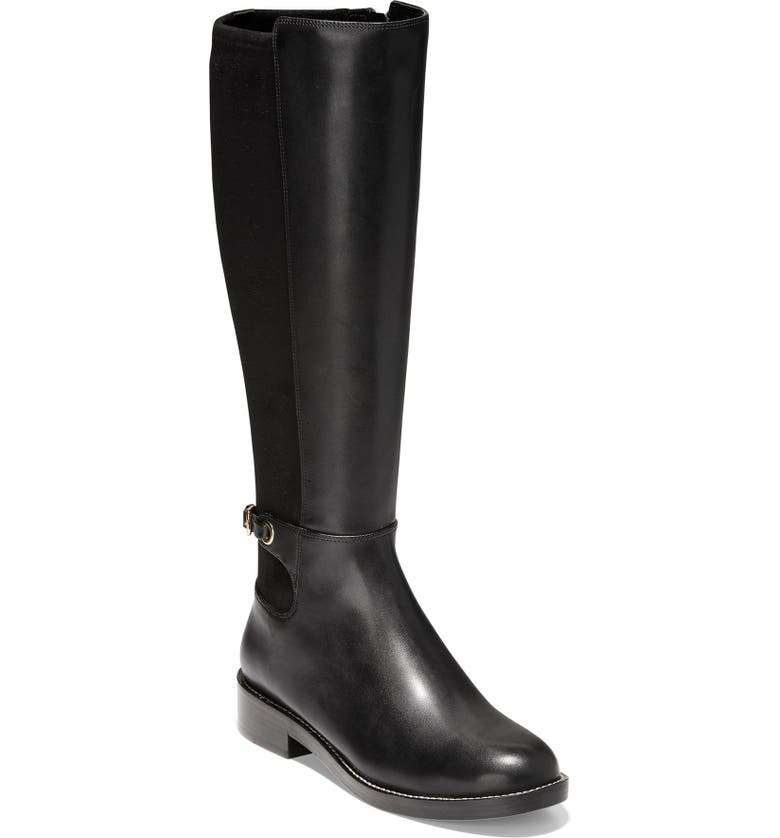COLE HAAN Parker Grand Stretch Knee High Boot, Main, color, 001