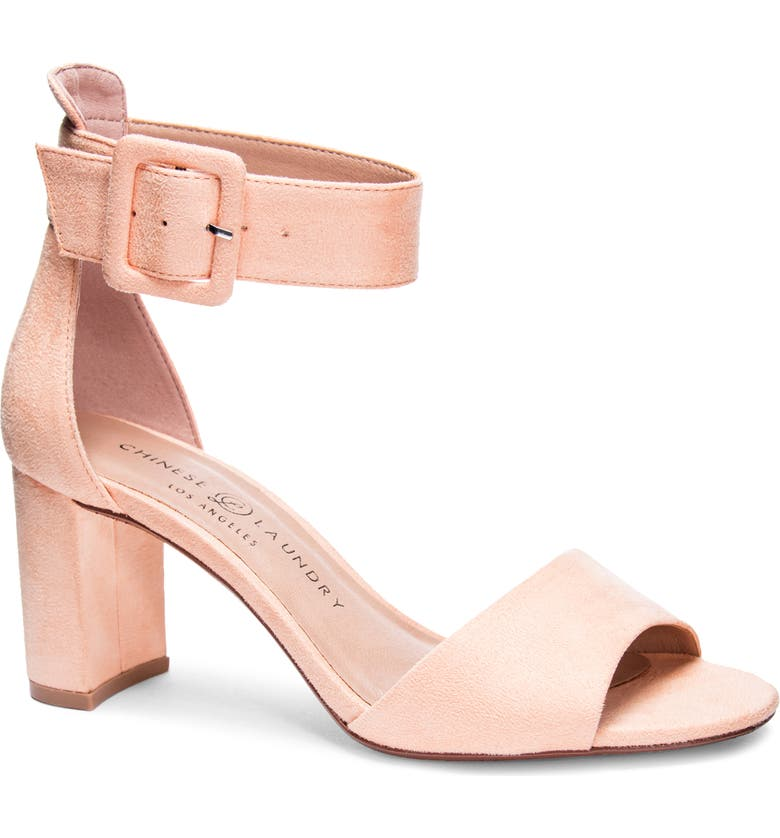 CHINESE LAUNDRY Rumor Sandal, Main, color, SHERBET FAUX LEATHER