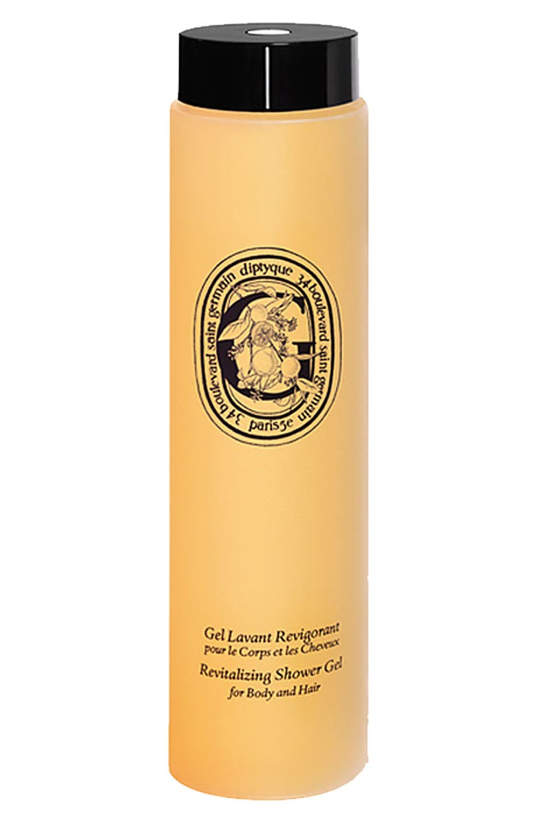 DIPTYQUE Revitalizing Shower Gel for Body and Hair, Main, color, 000