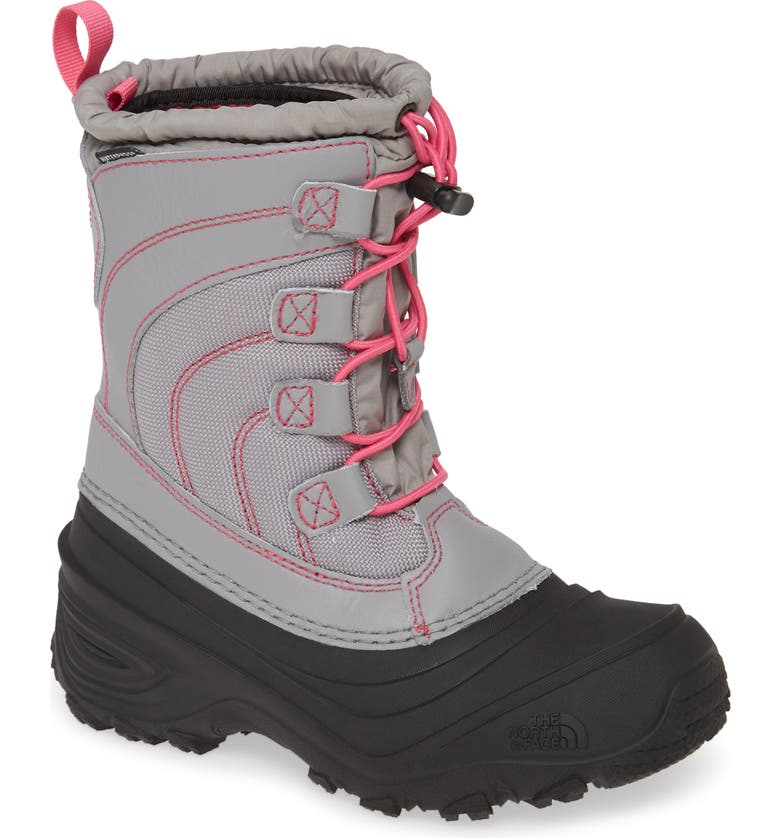 THE NORTH FACE 'Alpenglow IV' Bungee Lace Waterproof Boot, Main, color, 026