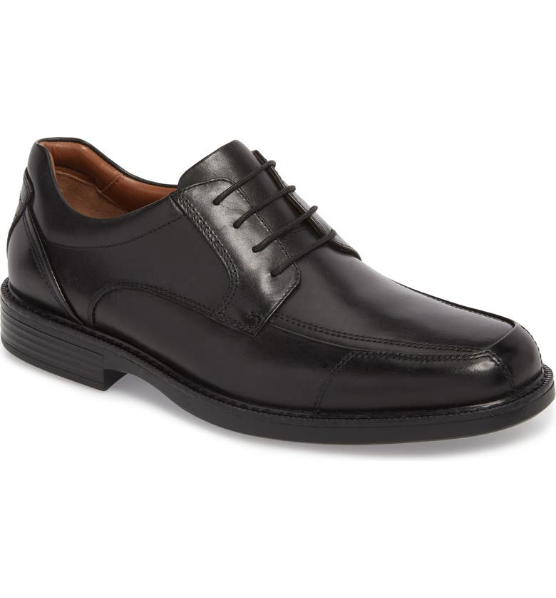 JOHNSTON & MURPHY Stanton XC4<sup>®</sup> Waterproof Derby, Main, color, BLACK LEATHER