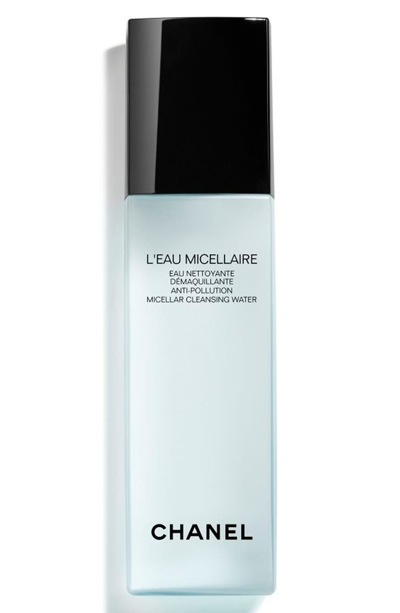 CHANEL L'EAU MICELLAIRE Anti-Pollution Micellar Cleansing Water, Main, color, NO COLOR