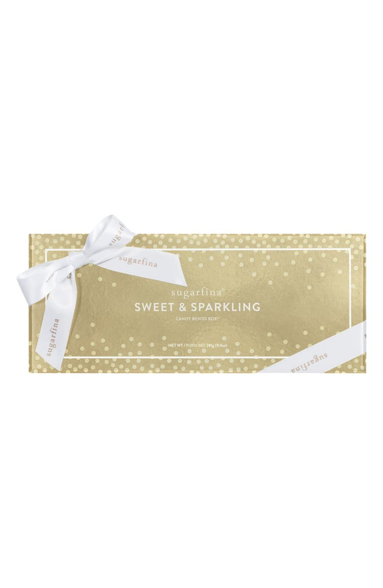 SUGARFINA Sweet & Sparkling Set of 3 Candy Boxes, Main, color, 000