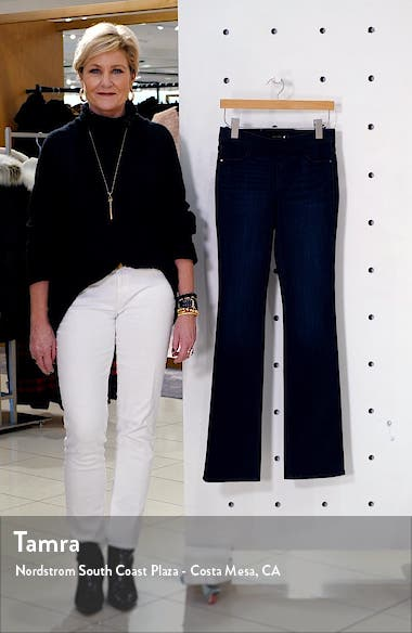 Uplift Pull-On Demi Boot Jeans, sales video thumbnail