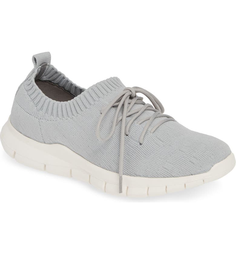 BERNIE MEV. Bernie Mev Plush Sneaker, Main, color, LIGHT GREY FABRIC