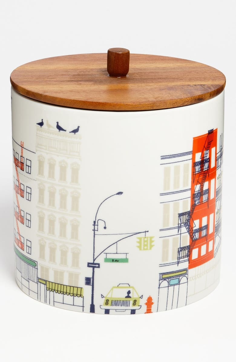 KATE SPADE NEW YORK 'hopscotch drive about town' large canister, Main, color, 100