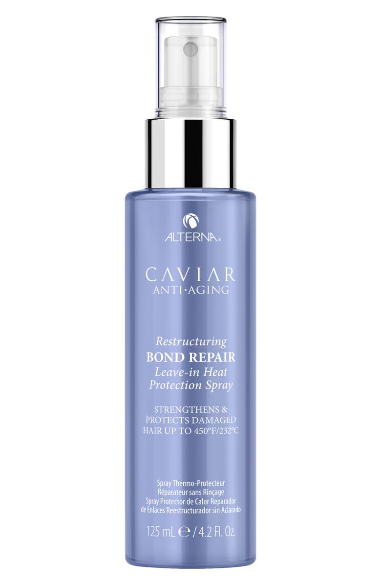 ALTERNA<SUP>®</SUP> Caviar Anti-Aging Restructuring Bond Repair Leave-in Heat Protection Spray, Main, color, 000
