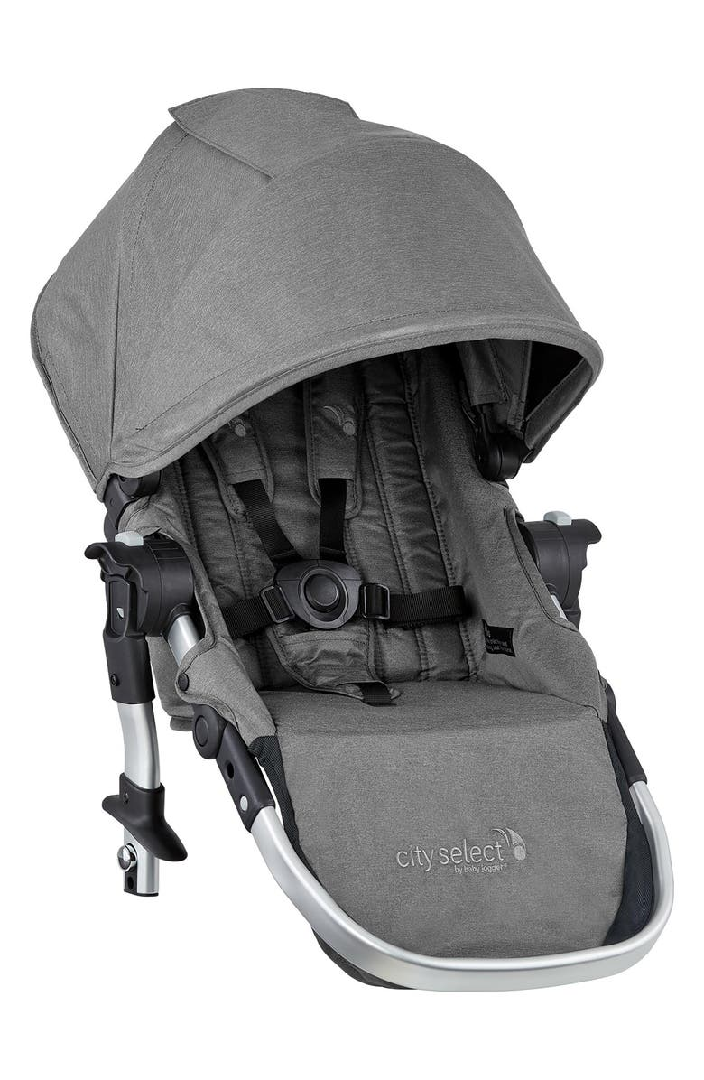 BABY JOGGER City Select<sup>®</sup> Fashion Edition Second Stroller Seat Kit, Main, color, SLATE