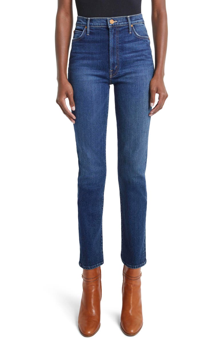 MOTHER The Swooner Rascal Ankle Skinny Jeans, Main, color, UNTIL NEXT TIME