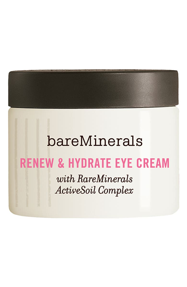 BAREMINERALS<SUP>®</SUP> 'Renew & Hydrate' Eye Cream, Main, color, No Color