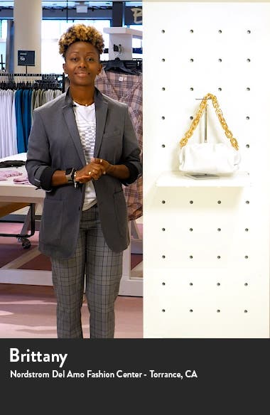 The Chain Pouch Leather Shoulder Bag, sales video thumbnail