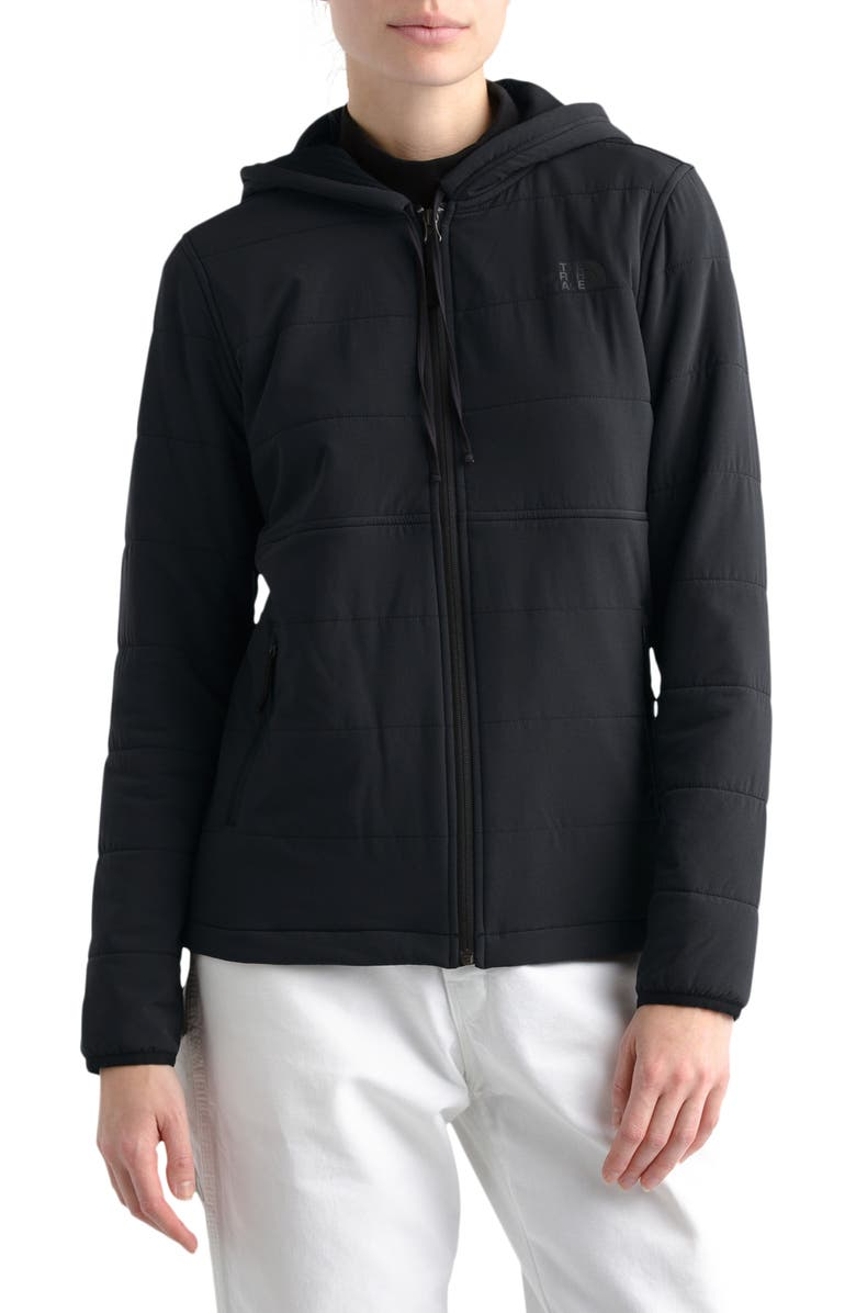 THE NORTH FACE Mountain Hooded Jacket, Main, color, TNF BLACK