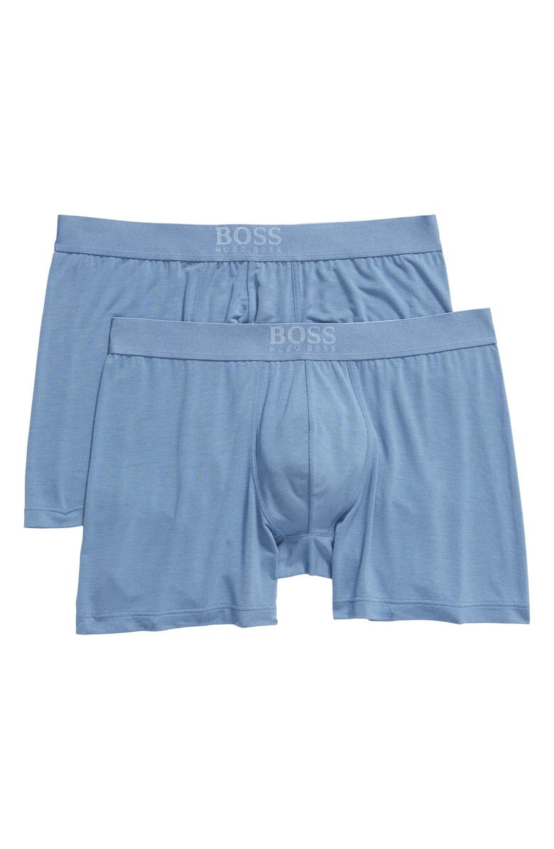 BOSS Ultra Soft 2-Pack Boxer Briefs, Main, color, 450