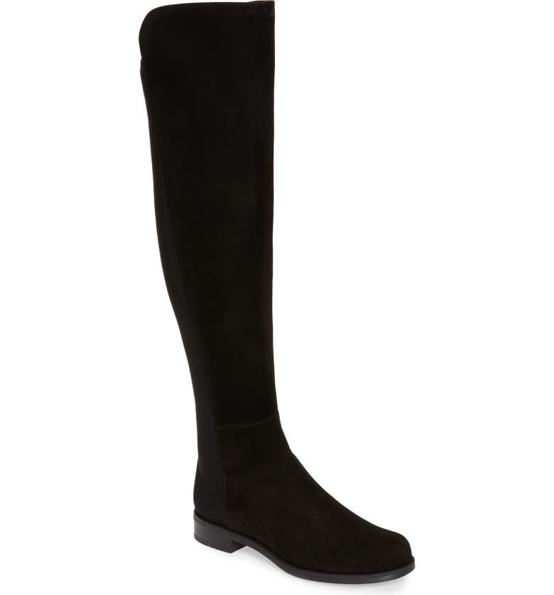 STUART WEITZMAN 5050 Over the Knee Boot, Main, color, BLACK