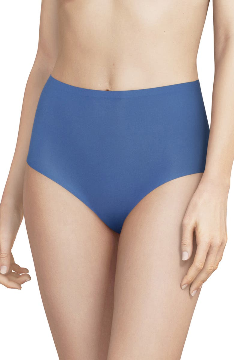 CHANTELLE LINGERIE Soft Stretch High Waist Briefs, Main, color, NORTHERN BLUE