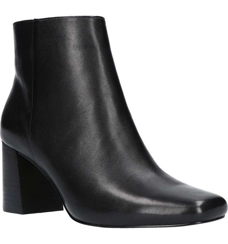 BELLA VITA Wilma Bootie, Main, color, BLACK LEATHER