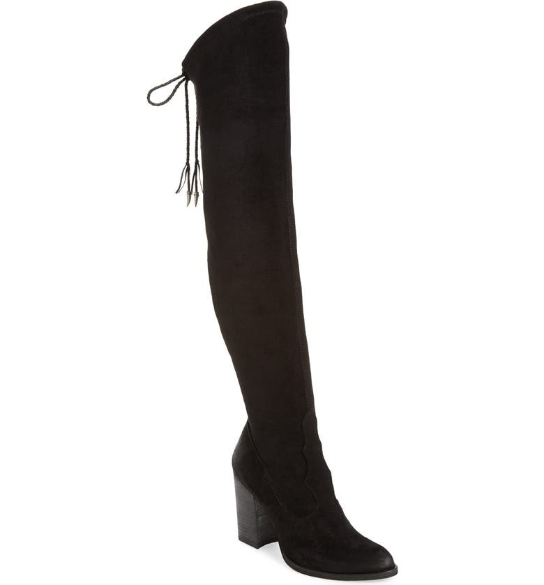 DOLCE VITA 'Chance' Over the Knee Stretch Boot, Main, color, 001