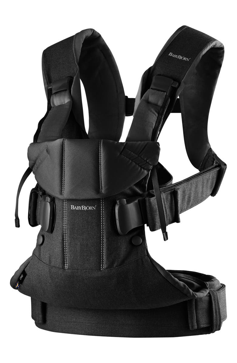 BABYBJÖRN Carrier One Baby Carrier, Main, color, BLACK
