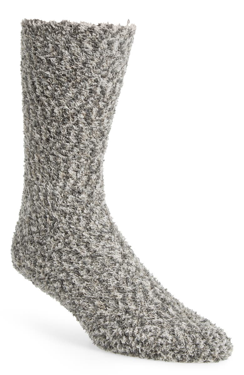 NORDSTROM Men's Shop Marled Butter Socks, Main, color, 030