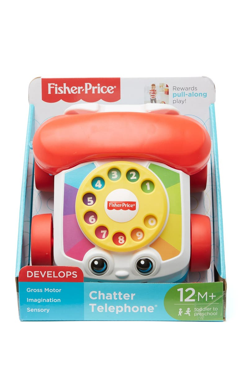 FISHER PRICE Chatter Telephone, Main, color, ASST