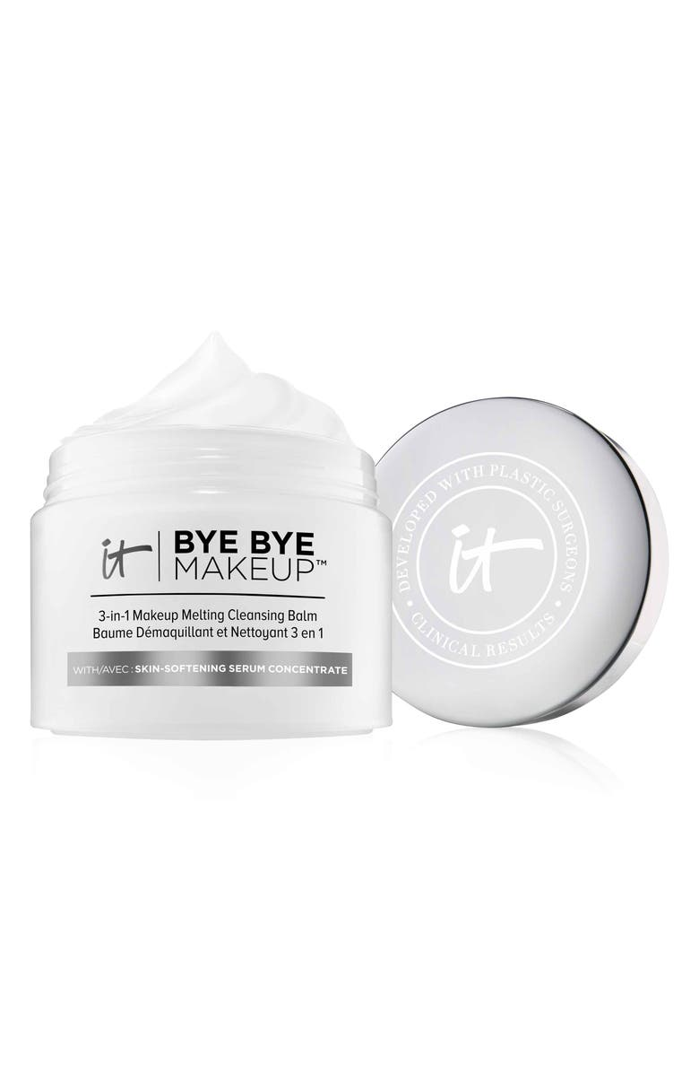 IT COSMETICS Bye Bye Makeup 3-in-1 Makeup Melting Cleansing Balm, Main, color, NO COLOR