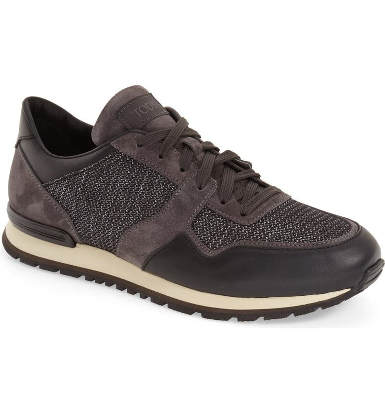 TOD'S Lace-Up Training Sneaker, Main, color, 019