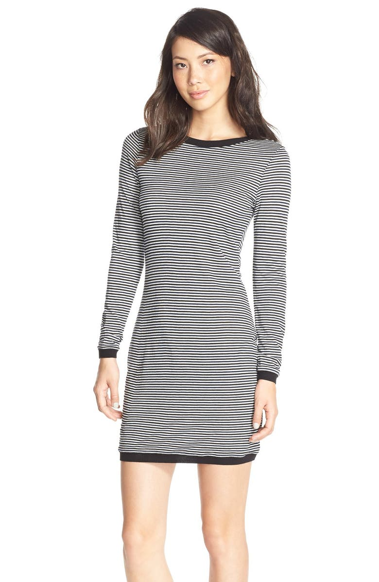 FRENCH CONNECTION 'Starzy' Stripe Body-Con Dress, Main, color, 001