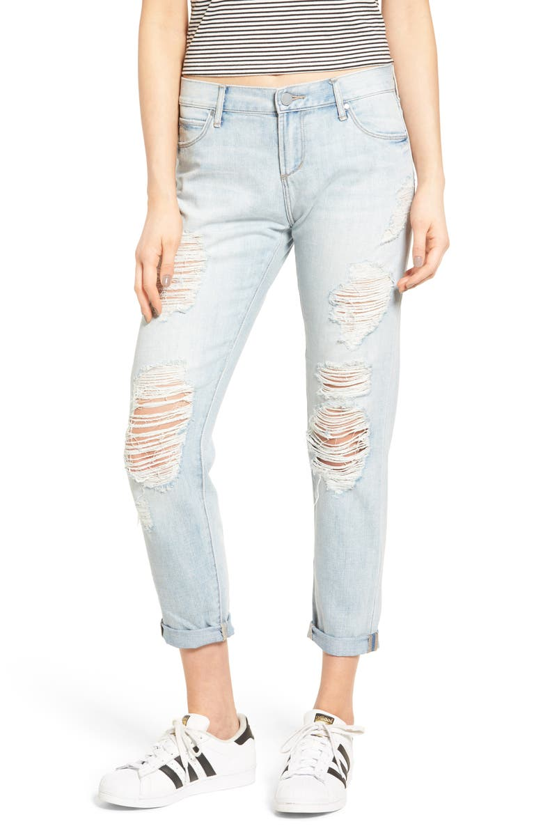 ARTICLES OF SOCIETY Janis Boyfriend Jeans, Main, color, 400