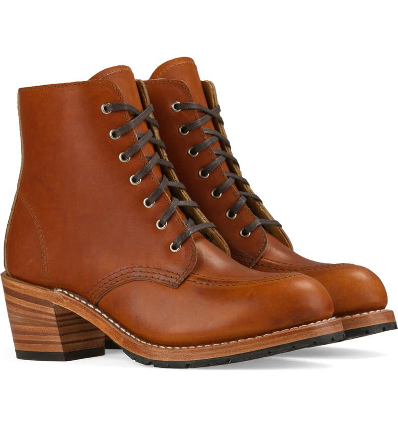 RED WING Clara Boot, Main, color, ORO LEGACY LEATHER