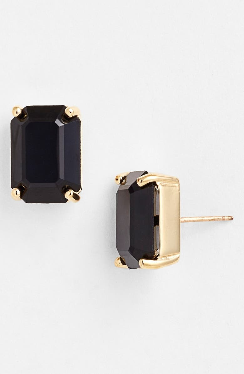 KATE SPADE NEW YORK stone stud earrings, Main, color, 002