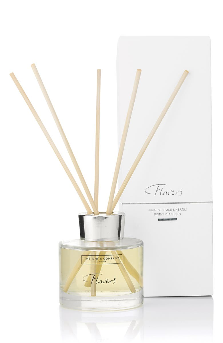 THE WHITE COMPANY Flowers Reed Diffuser, Main, color, 100