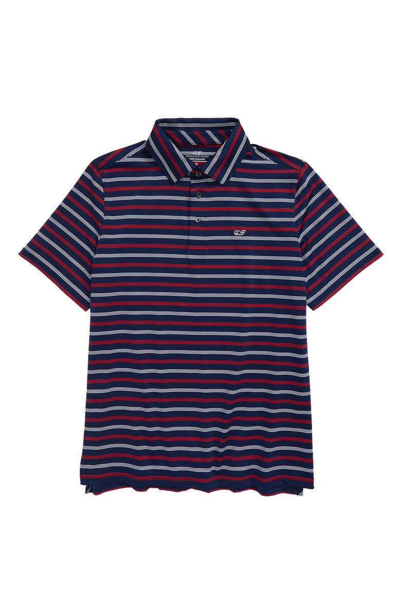 VINEYARD VINES Camden Strip Sankaty Polo, Main, color, 400