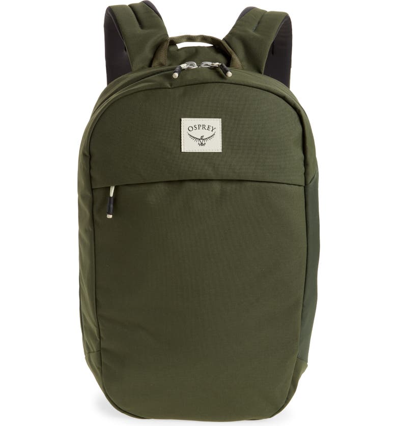 OSPREY Arcane Large Day Backpack, Main, color, HAYBALE GREEN