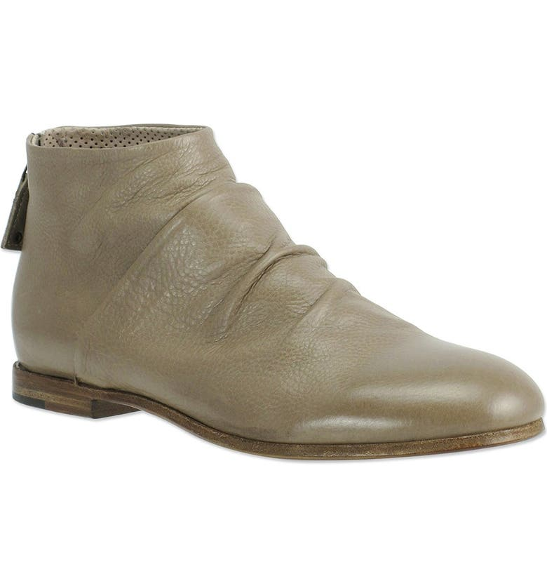 RON WHITE Griffin Leather Ankle Boot, Main, color, GREIGE