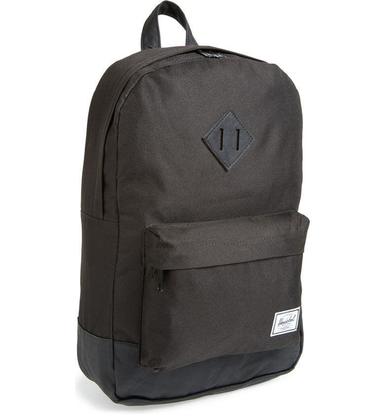 HERSCHEL SUPPLY CO. 'Heritage - Medium' Backpack, Main, color, 001