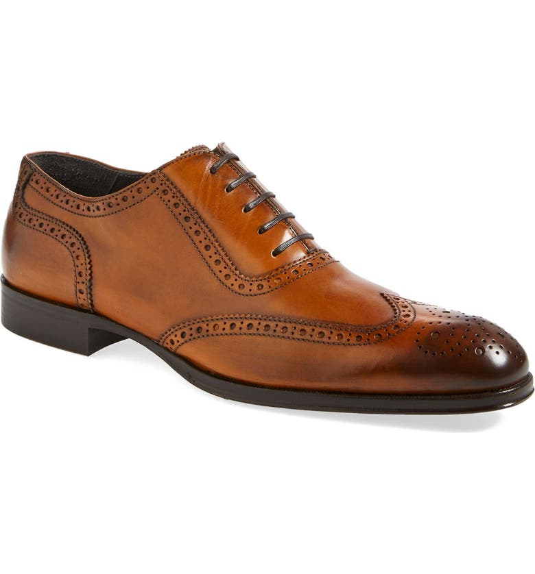 TO BOOT NEW YORK 'Duke' Wingtip, Main, color, 245
