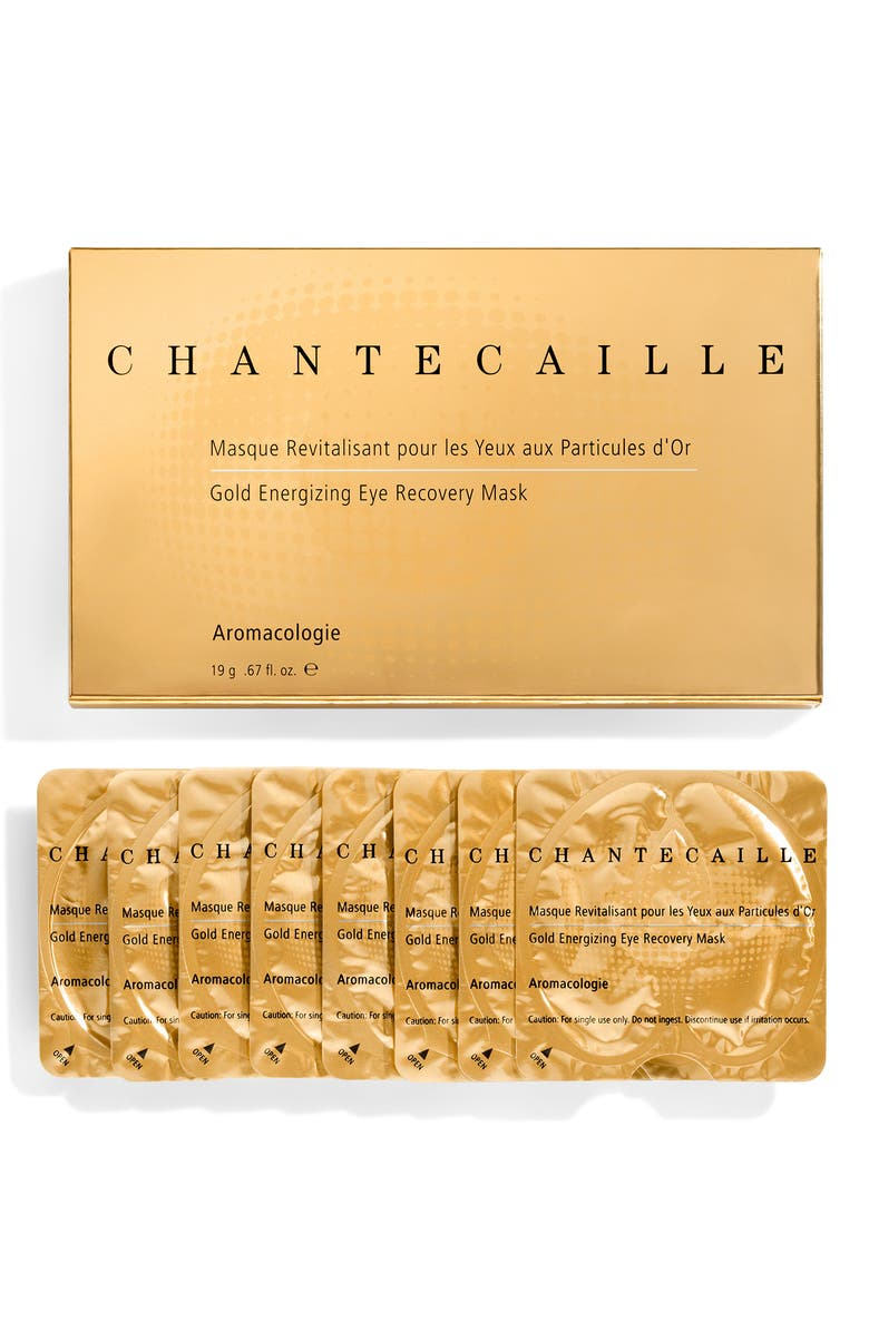 CHANTECAILLE Gold Energizing Eye Recovery Mask, Main, color, No Color