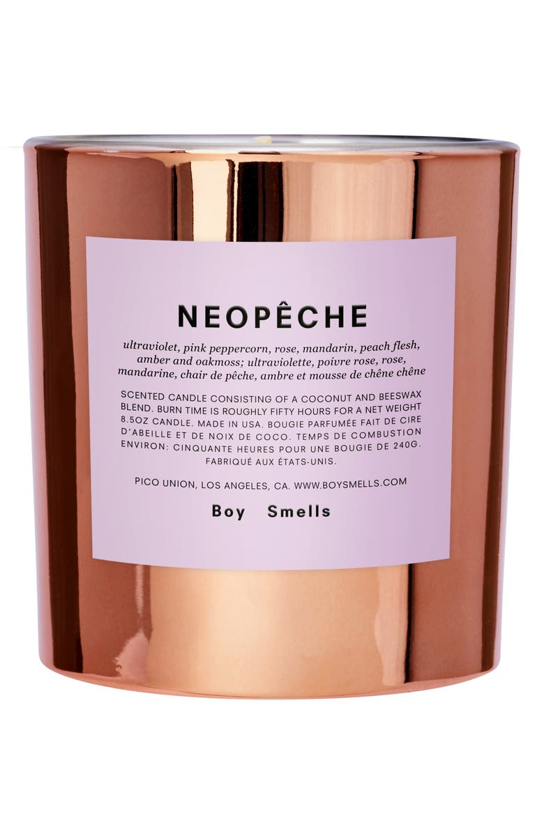 BOY SMELLS Hypernature Neopêche Scented Candle, Main, color, ORANGE