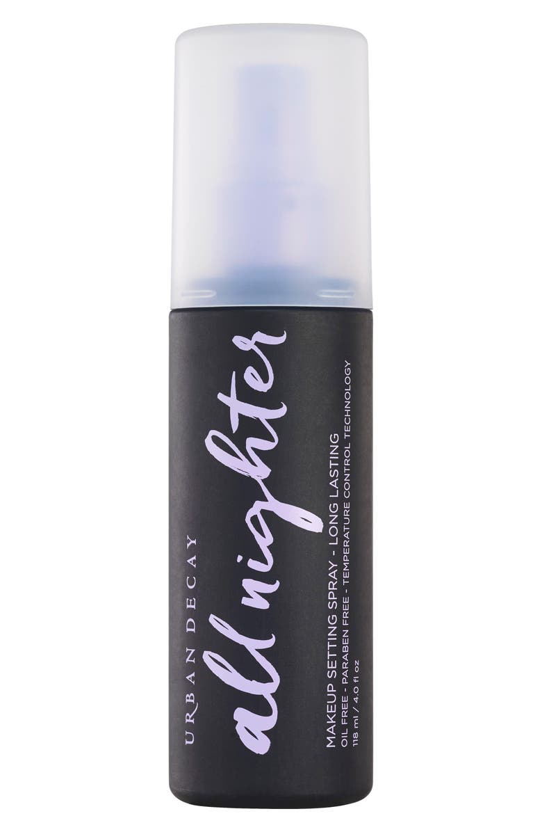 URBAN DECAY All Nighter Long-Lasting Makeup Setting Spray, Main, color, NO COLOR