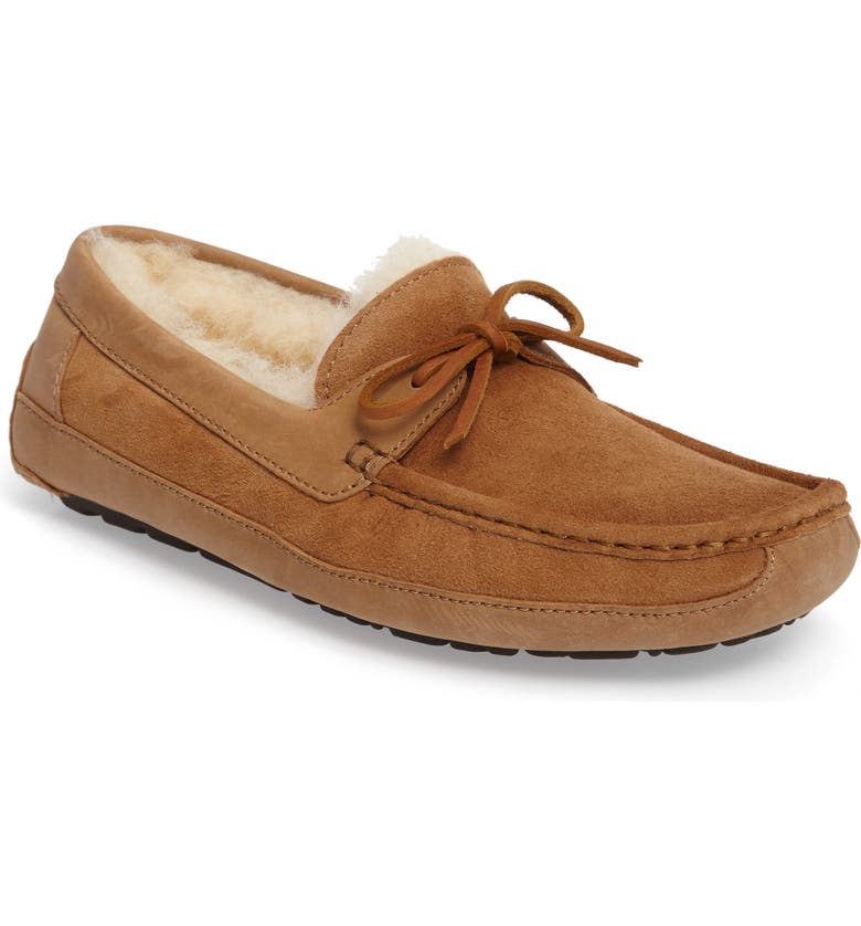 UGG<SUP>®</SUP> Byron Slipper, Main, color, CHESTNUT