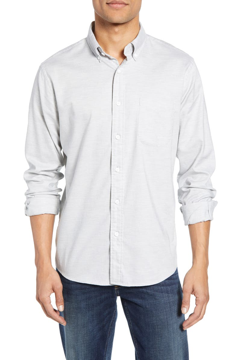 FAHERTY Regular Fit Stretch Oxford Shirt, Main, color, 051