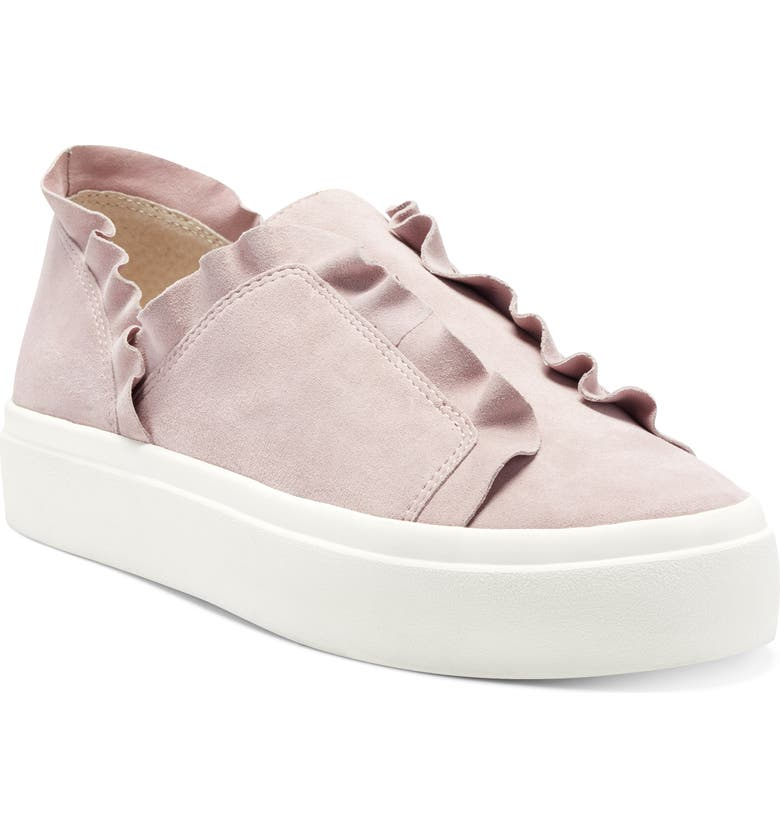 SOLE SOCIETY Talexa Slip-On Sneaker, Main, color, SOFT MAUVE SUEDE