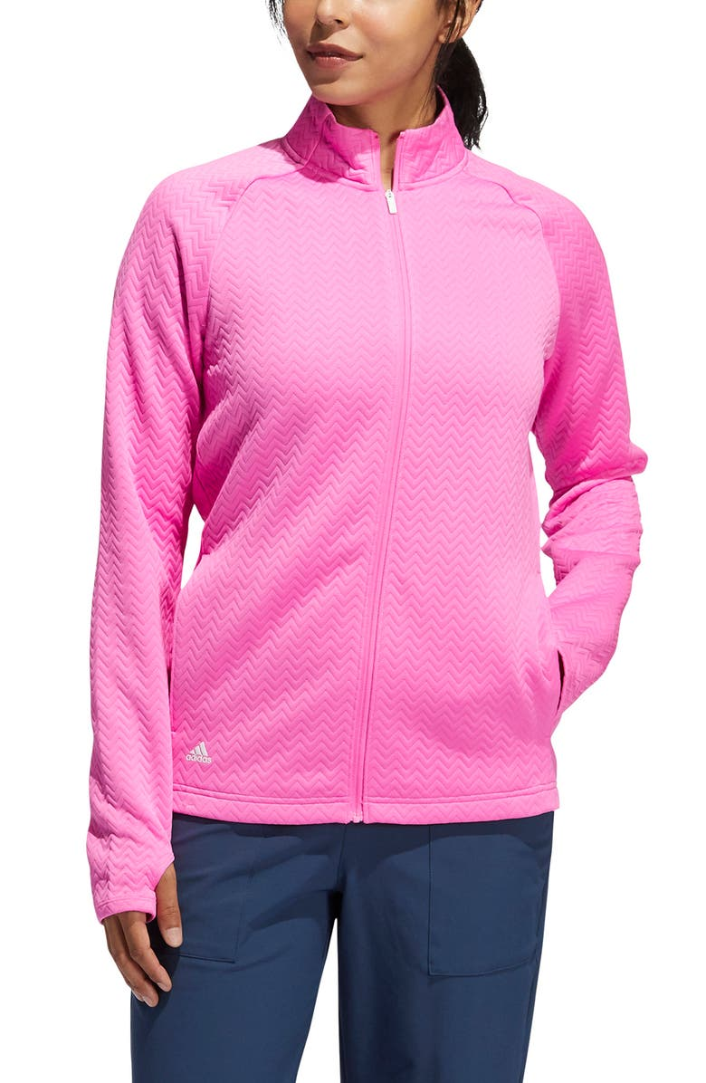 ADIDAS GOLF Texture Layer Jacket, Main, color, 670